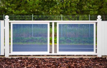 Hliníkové brány dvoukřídlé