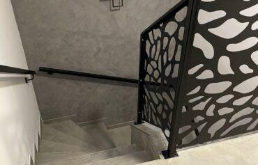 Hliníkové zábradlí schodišťové