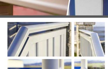 Hliníkové zábradlí balkonové